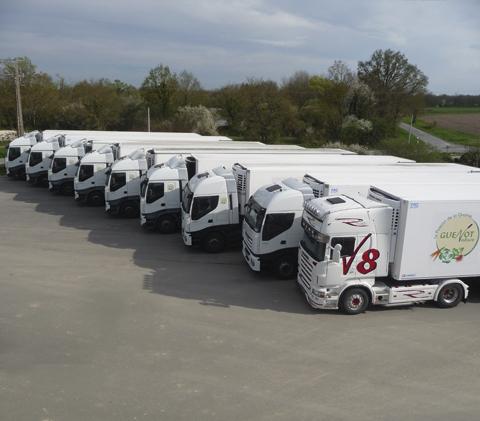 livraison guenot camion